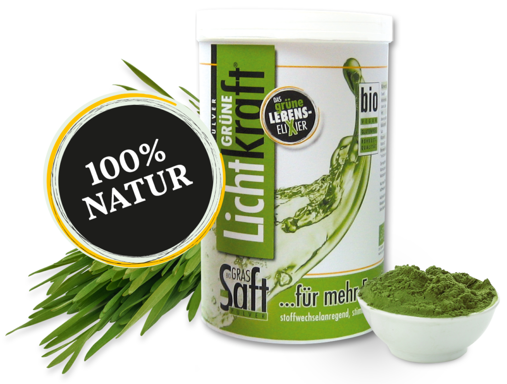 Grüne Lichtkraft - Grassaft Pulver